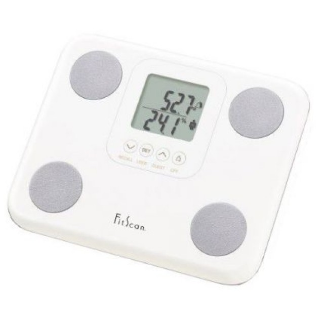 bc-730f (white) fitscan body composition monitor