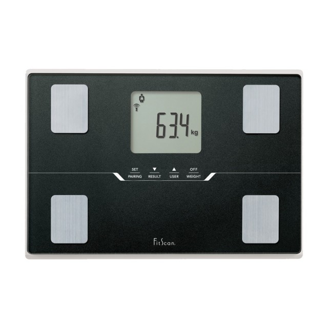 bc-401f fitscan travel scale body composition monitor
