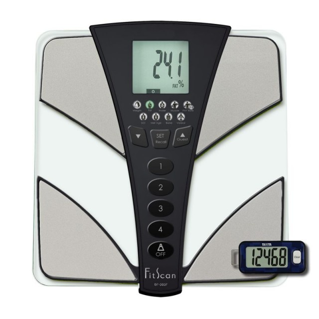 bc-585p body composition monitor, with pedometer, bundle